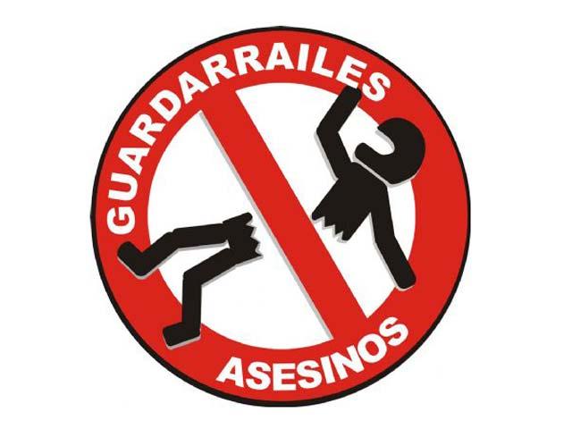 Moteros en Acción, contra los guardarraíles