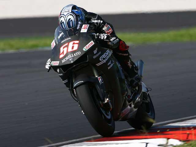 Imagen de Galeria de Valentino Rossi prueba los neumáticos de calificación