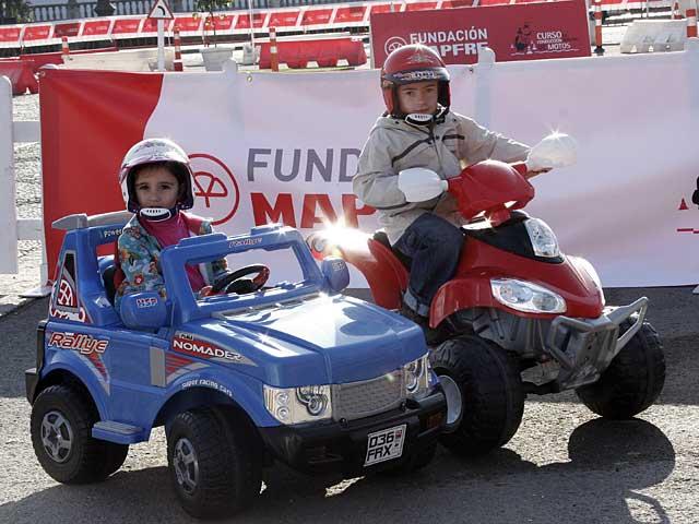Éxito en el I Curso de Conducción Segura de la Fundación MAPFRE