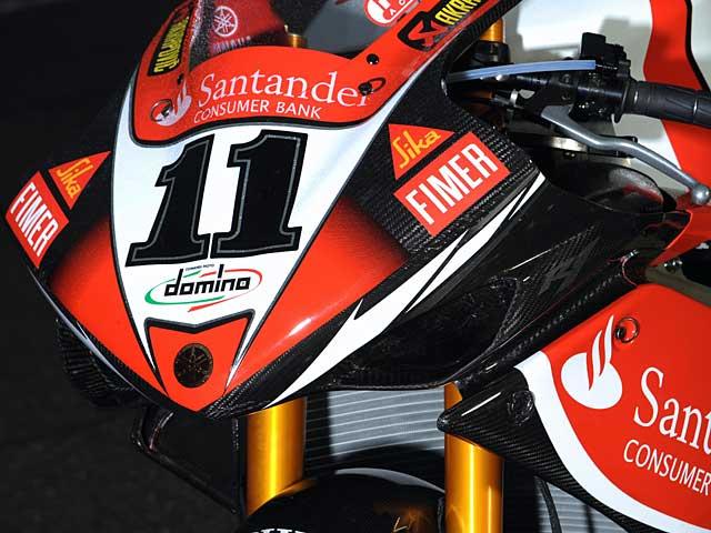 La Yamaha YZF-R1 de SBK ya está preparada