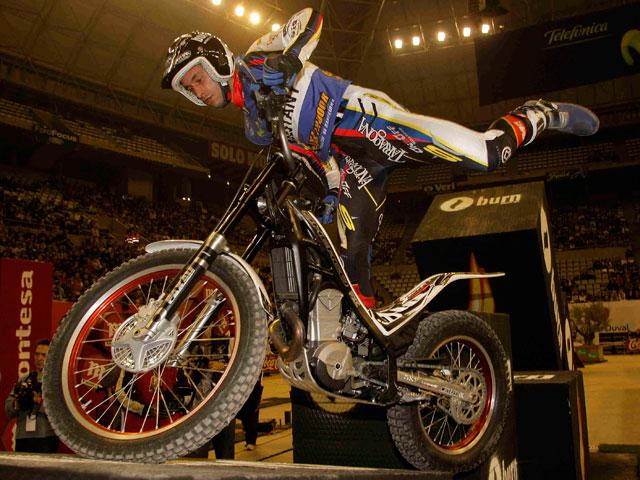 Mundial de Trial Indoor en Granada