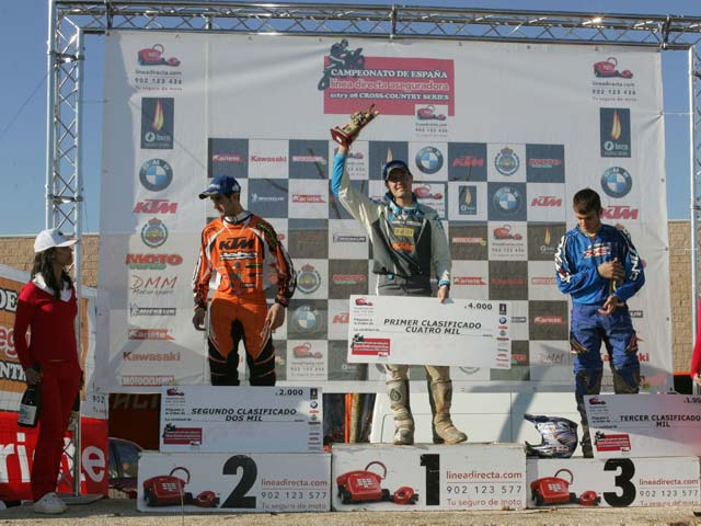 Xavi Galindo con KTM, victoria en el Cross Country de Solsona