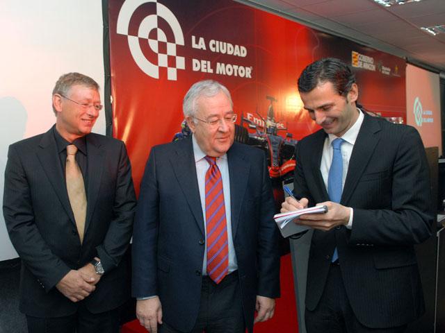 La ciudad del motor de Aragón presenta su circuito