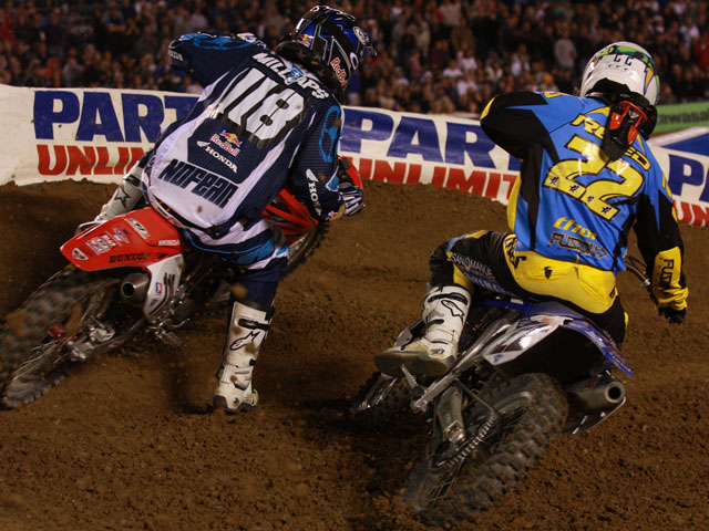 Chad Reed, líder inamovible del Supercross