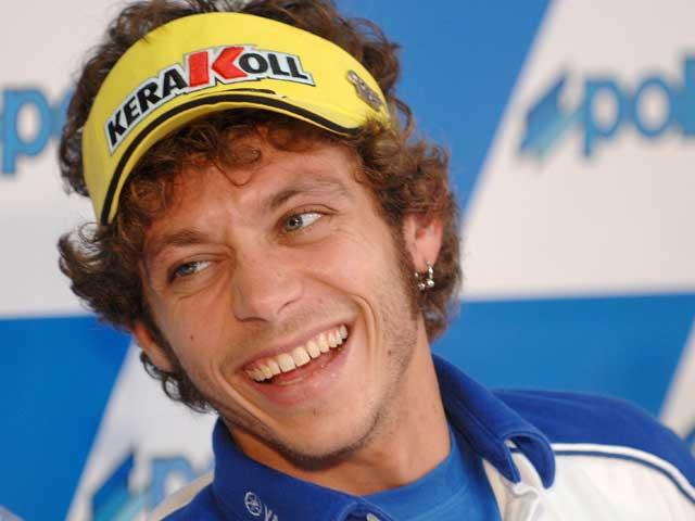Valentino Rossi en paz con el fisco