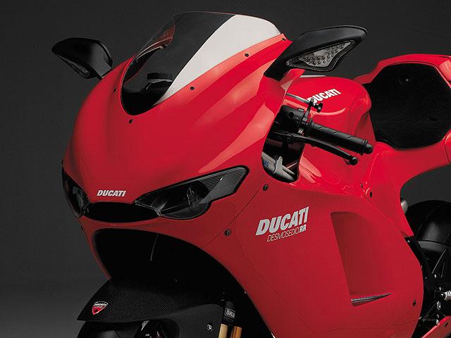 La Ducati Desmosedici, de alquiler