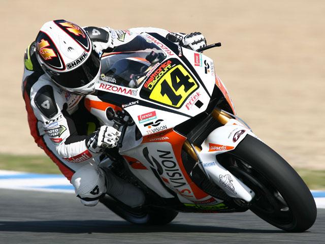 Hayden (Honda), De Puniet y Lorenzo