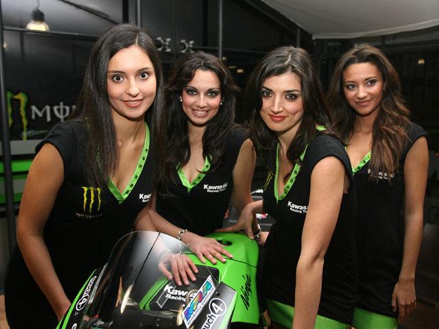 Kawasaki presentó su equipo de MotoGP