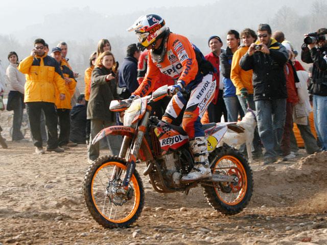 Xavi Galindo con KTM repite victoria en el Memorial Toni Soler