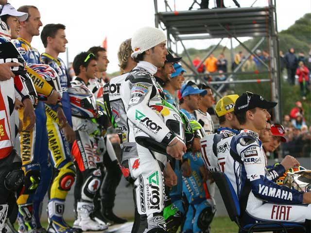 Los entrenamientos IRTA de MotoGP, en imágenes