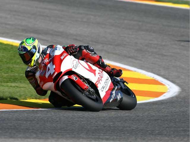 Alex Barros, probador oficial de Michelin en MotoGP