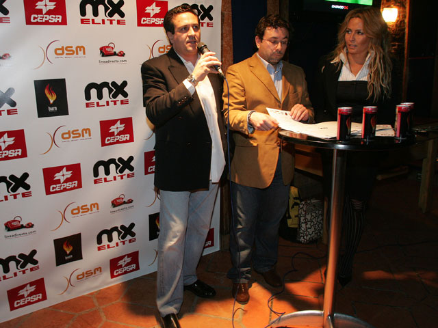 Presentación del Campeonato de España de Motocross