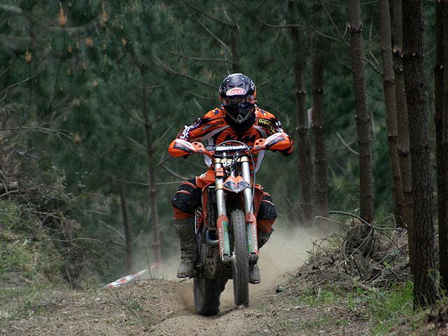 Xavi Galindo (KTM), primer campeón de España 2008
