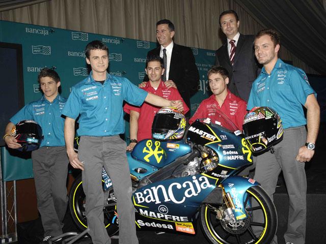 Imagen de Galeria de Presentación del Bancaja Aspar Team