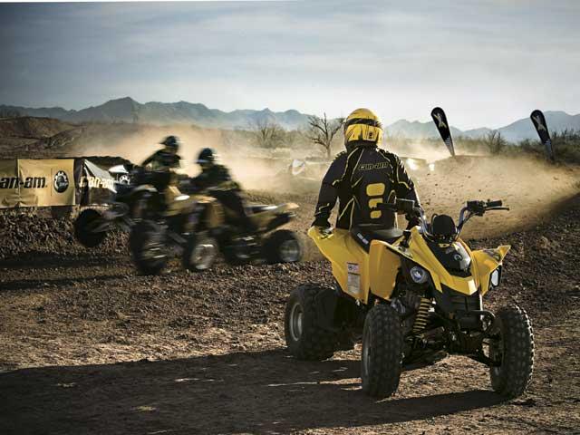 Can-am presenta su gama de quads 2008