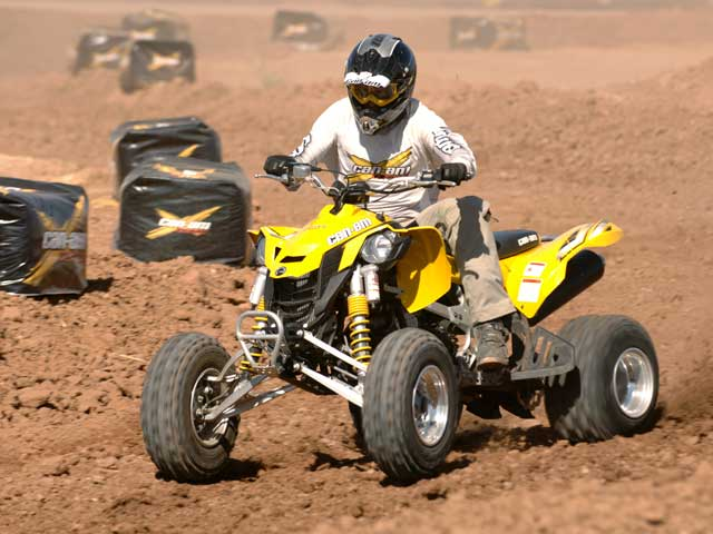 Can-am presenta su gama de quads 2008