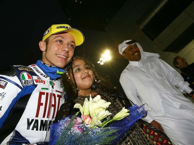 Stoner (Ducati) y Lorenzo (Yamaha), reyes de la noche