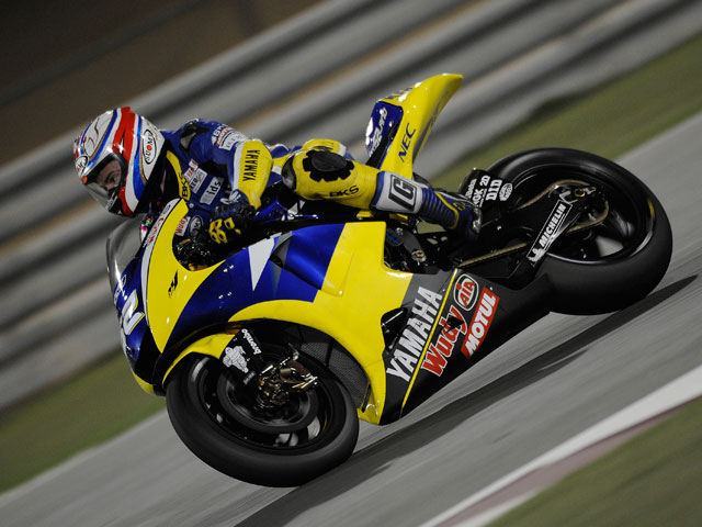 Jorge Lorenzo (Yamaha) domina la noche de MotoGP