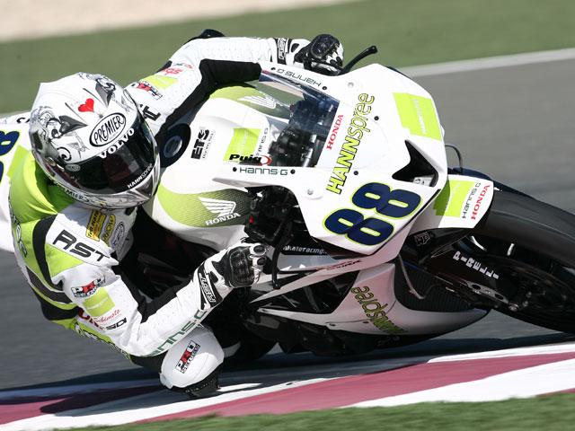 Imagen de Galeria de Corser (Yamaha) y Bayliss (Ducati). Los australianos mandan en casa