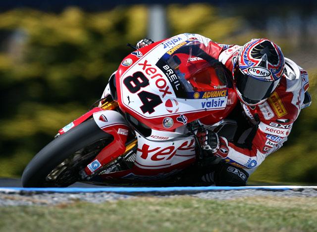 Imagen de Galeria de Bayliss (Ducati), Corser (Yamaha) y Fabrizio (Yamaha) suben al podio