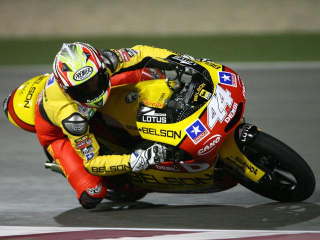 Mattia Pasini (Aprilia) y Bradley Smith (Aprilia), los más rápidos en Qatar