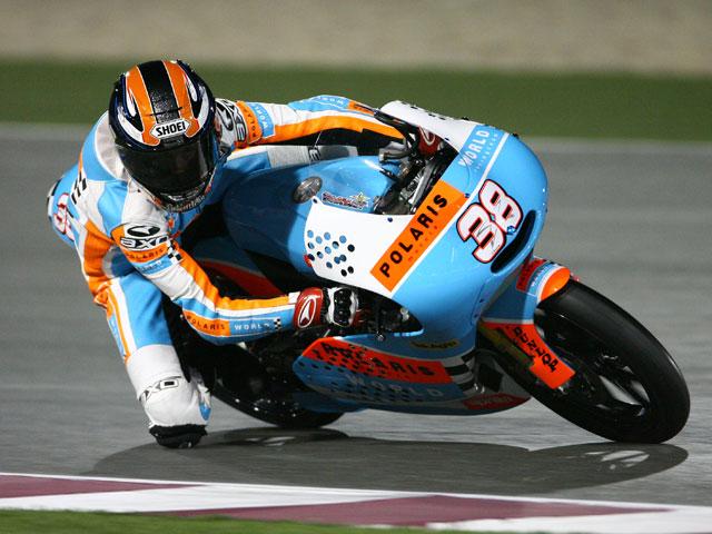 Imagen de Galeria de Mattia Pasini (Aprilia) y Bradley Smith (Aprilia), los más rápidos en Qatar