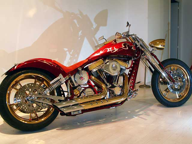 """Exposición custom """"El Arte de la Moto"""""""