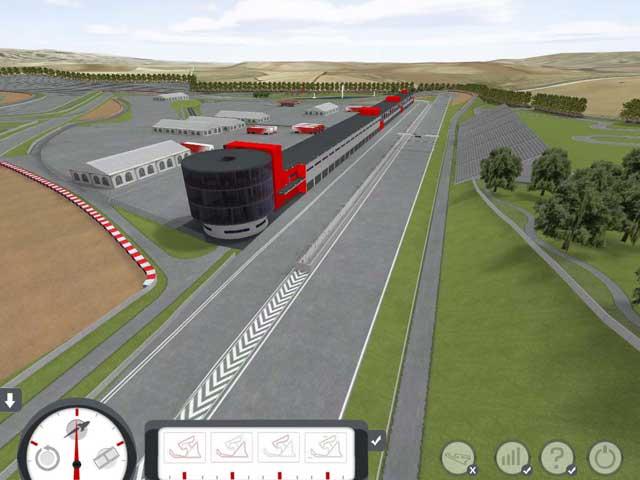El Circuito de Los Arcos (Navarra), primeras imágenes