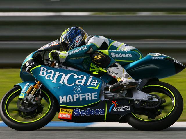 Gadea (Aprilia) se recupera a contrarreloj para el GP Qatar