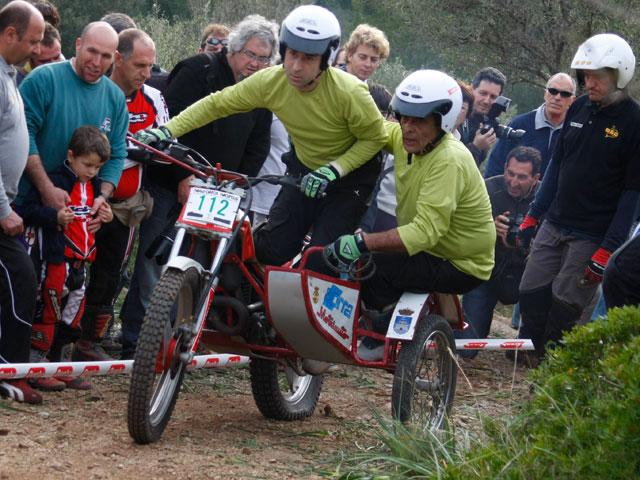Imagen de Galeria de Alfredo Gómez con Honda se lleva la victoria en el Trial de Clásicas
