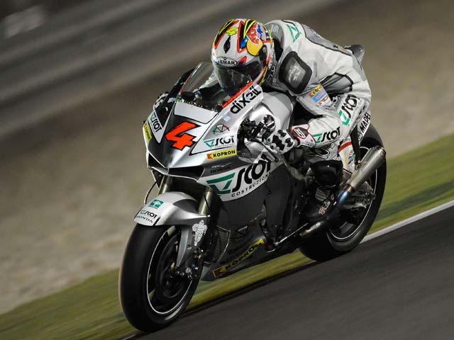 La Ducati de Stoner impone su ley desde el primer momento