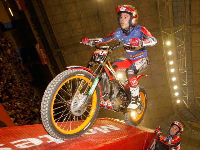 Toni Bou (Montesa Honda) afronta el final del Mundial de Trial Indoor