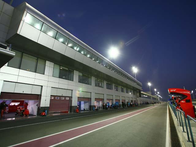 MotoGP nocturno en Qatar