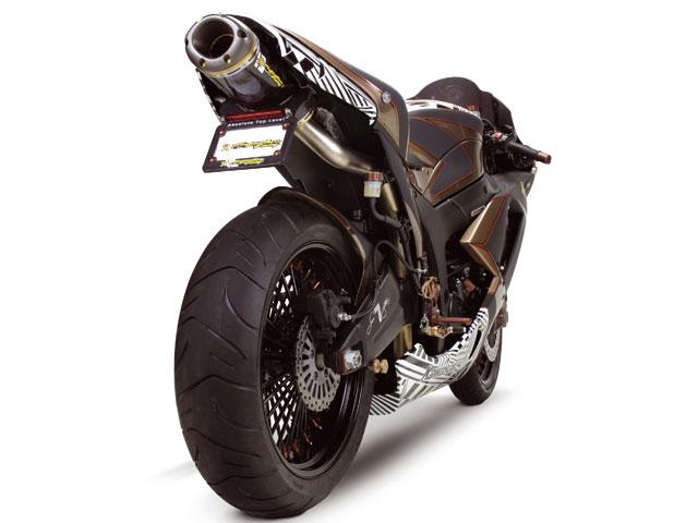 La Kawasaki ZX-6R de James Stewart