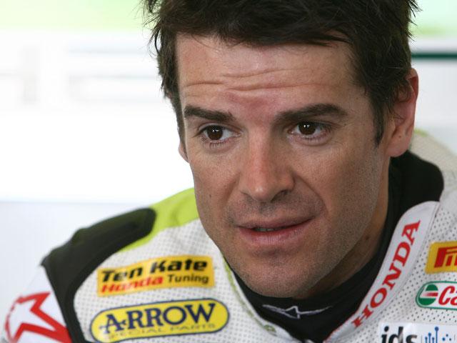 Rubén Xaus (Ducati), mejores tiempos en Valencia