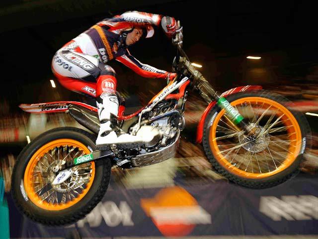 Imagen de Galeria de Toni Bou (Montesa Honda), bicampeón del mundo de Trial Indoor