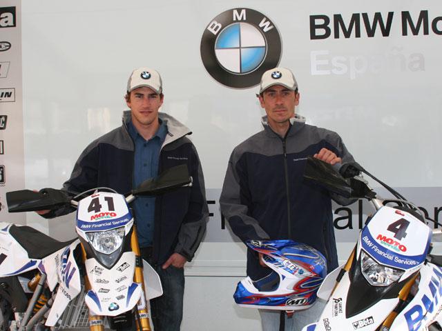 Kari Tiainen desarrolla la nueva BMW G 450 X