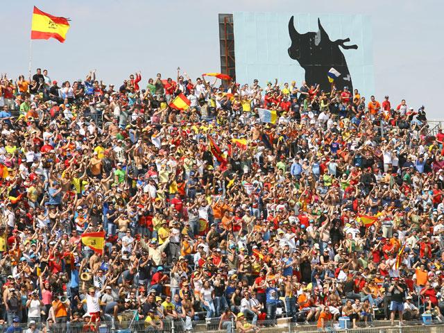 Imagen de Galeria de Ni frío, ni calor en el Gran Premio de España