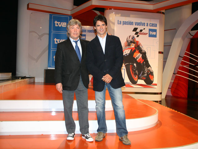 TVE presenta sus armas para el Mundial de MotoGP