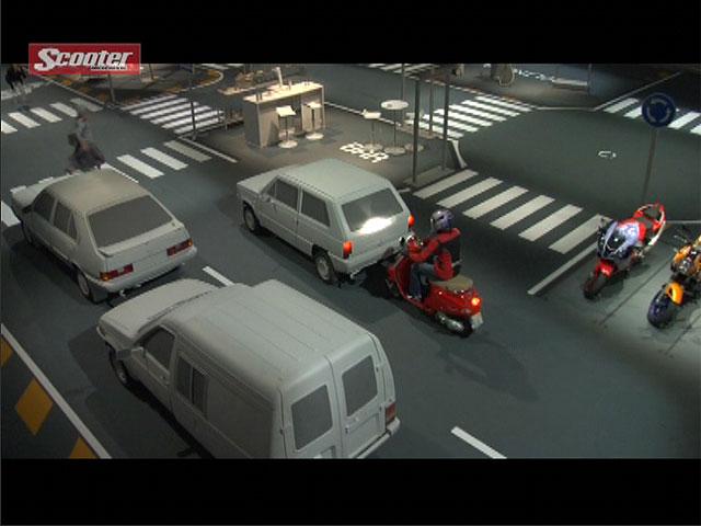 Conducción de motos y scooter con vídeos