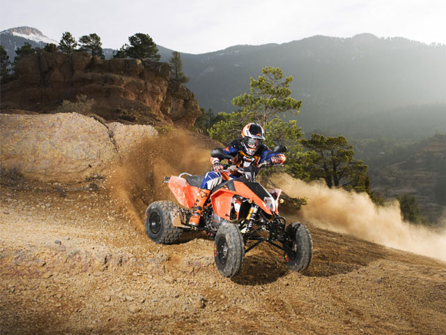 Los quads KTM, ya disponibles