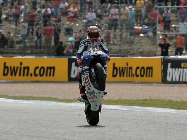 Pedrosa (Honda), rey del Gran Premio de Jerez. Lorenzo (Yamaha), tercero