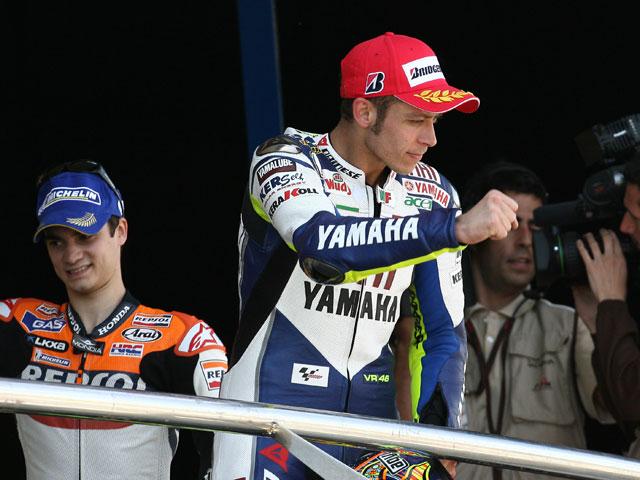 """Dani Pedrosa (Honda):""""Ha sido un honor recibir el trofeo por parte del Rey"""""""