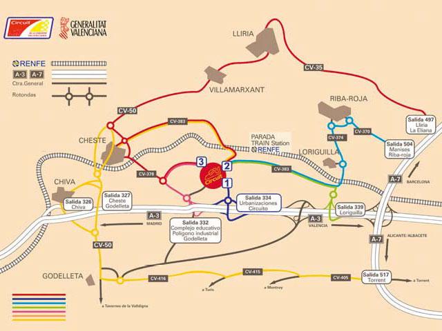 Precios y horarios del Mundial de SBK en Valencia