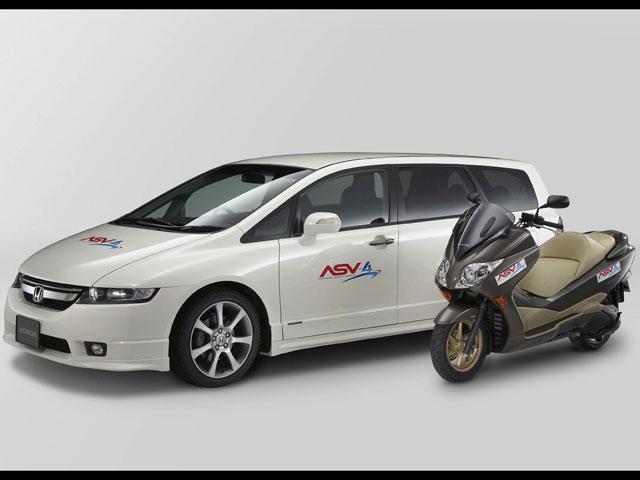 Imagen de Galeria de Honda realiza pruebas de Sistemas de Apoyo de Seguridad Vial