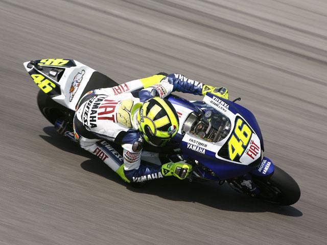 Valentino Rossi (Yamaha), dispuesto a ganar el GP de Portugal