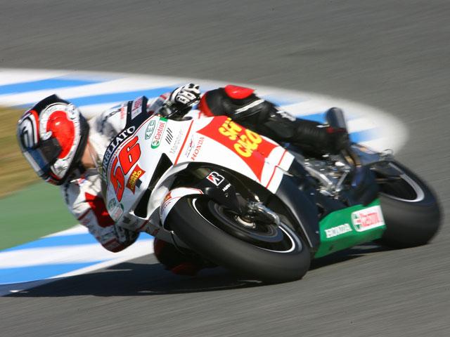 Stoner (Ducati) y Rossi (Yamaha) marcan el ritmo