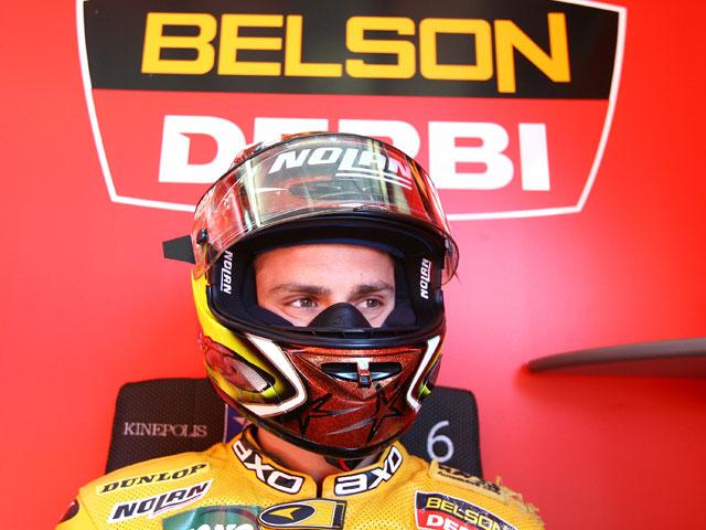 """Alex Debón (Aprilia): """"Un buen resultado en una jornada difícil"""""""