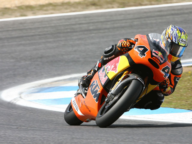 Bautista (Aprilia) impone su ritmo en Estoril