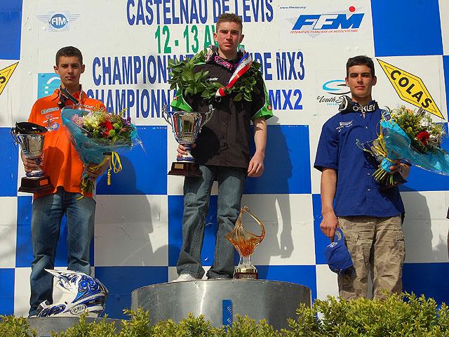 Doble victoria de Pourcel en MX3